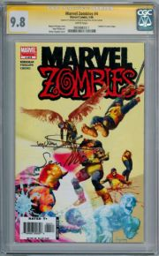 Marvel Zombies #4 CGC 9.8 Signature Series Signed Arthur Suydam Sean Phillips X-Men #1